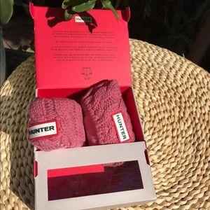 Hunter Knitted Socks 🎀🎀toddler 11/13 new in box
